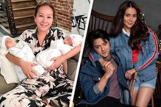 Korina wants Kathryn, Daniel to be her twins' godparents