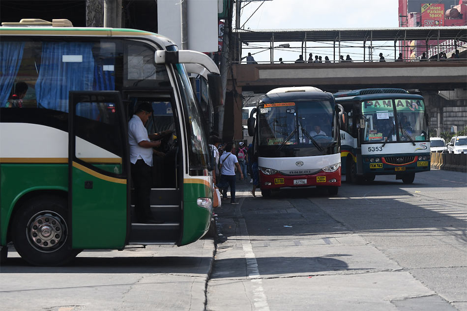 LTFRB eyes resumption of provincial bus trips in Metro Manila within September