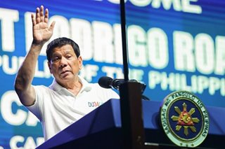 Duterte to attend Hugpong's miting de avance