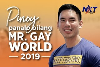 Pinoy, panalo bilang Mr. Gay World 2019