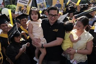 Aquino clan banks on 'family effort' to deliver second Senate term for Bam