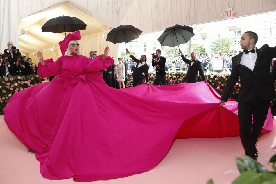 Lady Gaga takes on 'Camp' at Met Gala in gowns, underwear 1