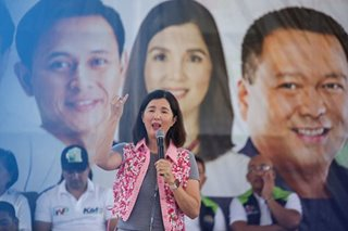 The running senator: Pia Cayetano banks on track record in the race that matters most