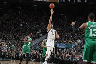 NBA: Bucks rout Celtics to clinch series
