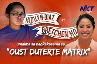 Hidilyn Diaz at Gretchen Ho, umalma sa pagkakasama sa