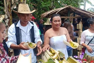 TINGNAN: Eco-friendly wedding sa Negros Oriental