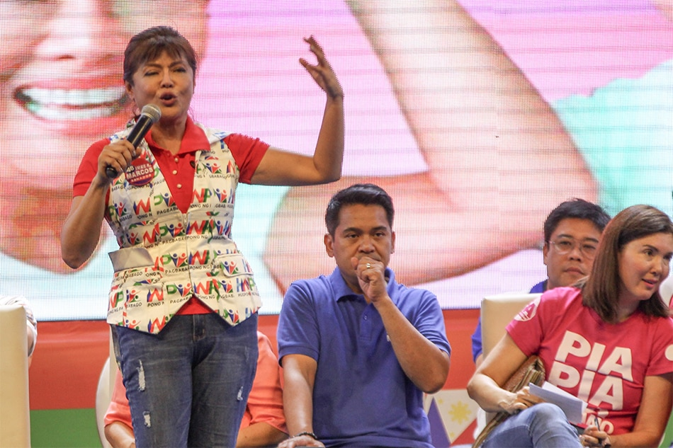 Imee Marcos disowns 'solo vote' sample ballots