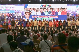 Hugpong wraps up campaign in Duterte bailiwick