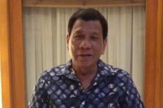WATCH: Duterte wishes moms a 'happy, contented life' on Mother's Day