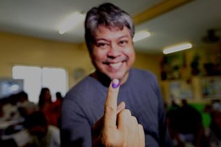 Kiko Pangilinan casts vote, cites 'fight for truth, for right'
