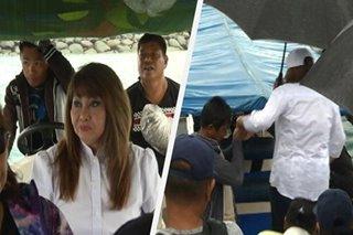 Imelda Papin nag-speedboat para makaboto