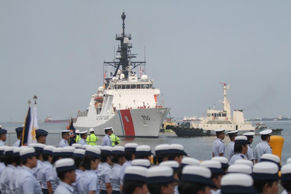 USS Coast Guard arrives in Manila