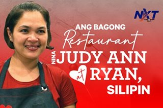 Bagong restaurant nina Judy Ann at Ryan, silipin