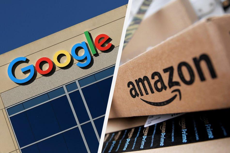 Google, Amazon rivalry...