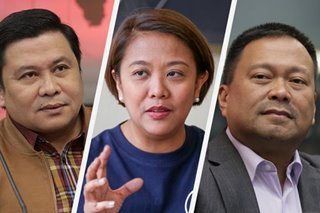 Jinggoy hails Nancy, mocks half-brother JV in battle for 12th spot