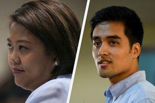 Nancy Binay, Vico Sotto defer casting votes due to machine glitch