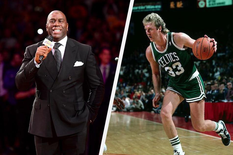 5ab1b811e6c NBA: Magic Johnson, Larry Bird to get joint NBA lifetime honor | ABS ...