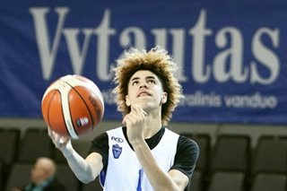 LaMelo Ball leaves Aussie team to prepare for NBA draft