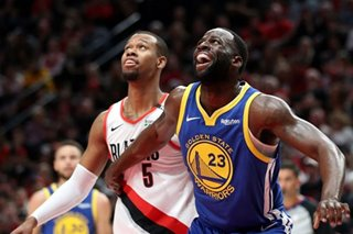 NBA: Another comeback gives Warriors 3-0 lead on Blazers