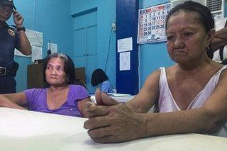 2 lola timbog sa umano'y pagbebenta ng droga sa Cavite