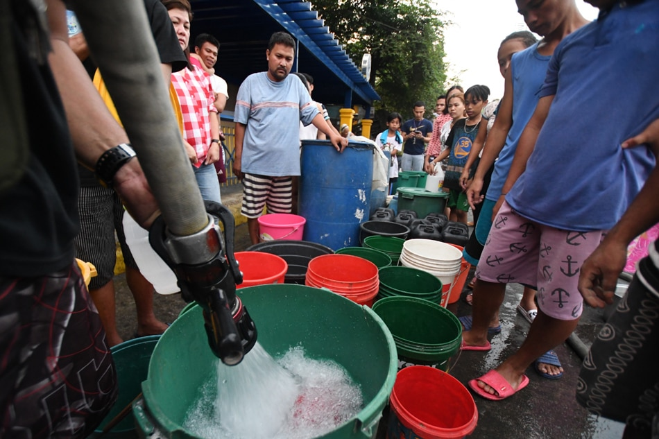 Manila Water: Service interruptions to persist with supply still 'deficient'