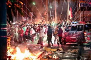 Riot in Indonesia