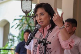 Robredo: I will continue my job, Cabinet post or not