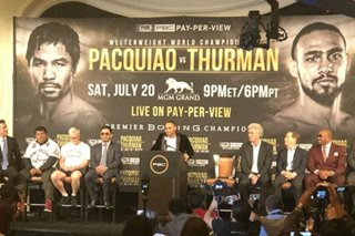 Thurman says ready to 'crucify' Pacquiao