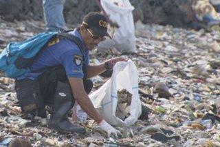 DENR nagbabala sa pagbalik ng basura sa 'Baseco beach' sa tag-ulan