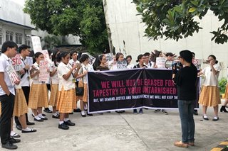 Fresh protest at Pisay over photo scandal as graduation nears