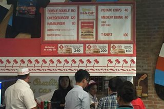 LOOK: Once again, In-N-Out pops into PH