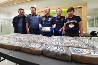 Fishers net P200-M worth of cocaine off Sorsogon waters