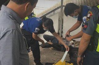 Nanaksak sa pulubi sa MRT arestado