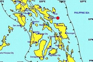 Magnitude 4.1 quake strikes off Sorsogon