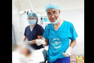 Operasyon sa sanggol na natusok ng palaso sa Palawan, tagumpay
