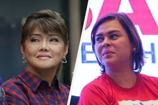 Imee Marcos: Presidency 'not in my mind,' says Sara Duterte 'strongest' 2022 bet