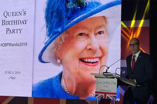 Inside Queen Elizabeth's birthday party in Manila