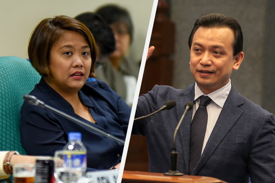 Nancy Binay offers Trillanes teaching post, medical care; outgoing Senator declines
