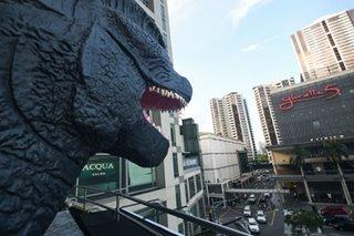 IN PHOTOS: Godzilla makes a stop in Manila