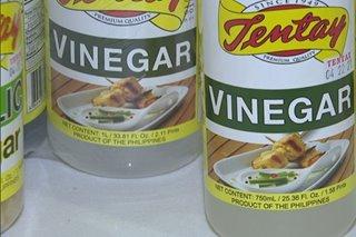 'Galing supplier': Tentay hugas-kamay sa isyu ng sangkap sa suka