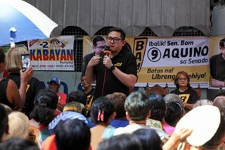 Bam Aquino: Liberal Party has to 'start fresh' after Senate race wipeout