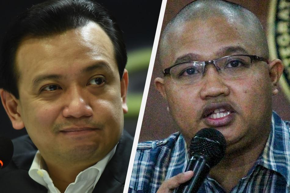 Trillanes, Bikoy face sedition raps for linking Duterte to drug trade 1