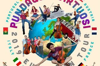 Zambales youth orchestra wows in Europe