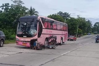2 patay sa banggaan ng bus, tricycle sa Isabela