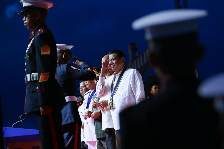 Duterte graces PH Navy anniversary