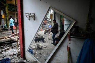 China quake kills 12