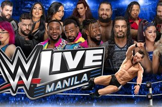 WWE returns to Manila in September