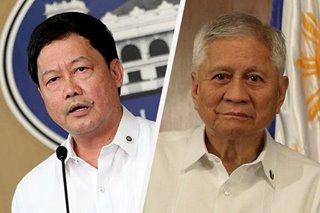 Del Rosario should have learned from Morales' HK trip: DOJ chief
