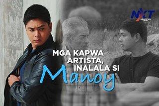 Mga kapwa artista, inalala si Manoy