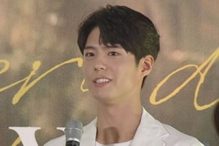 Park Bo Gum performs Filipino song in Manila fan meet